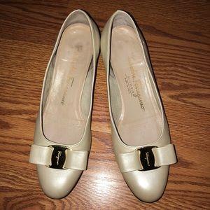 Salvatore Ferragamo Boutique Vintage Heels Size 6
